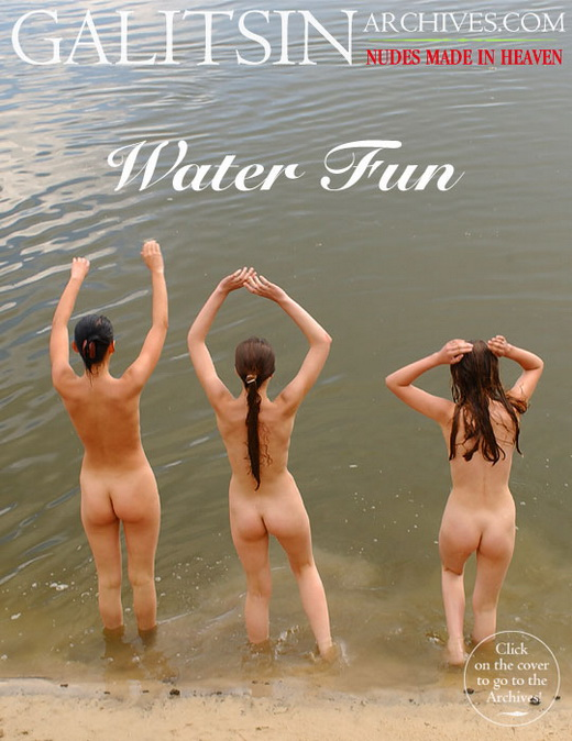 Katerina & Lina & Maya - `Water Fun` - by Galitsin for GALITSIN-ARCHIVES