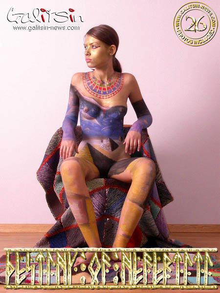 Valentina - `Destiny of Nefertiti` - by Galitsin for GALITSIN-NEWS