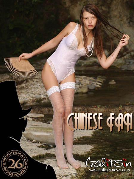 Valentina - `Chinese fan` - by Galitsin for GALITSIN-NEWS