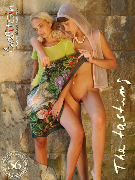 Polina & Valentina - `The tasting` - by Galitsin for GALITSIN-NEWS
