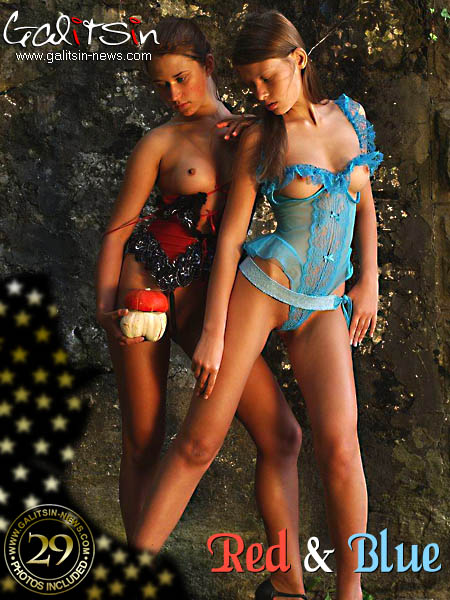 Olesia & Valentina - `Red & Blue` - by Galitsin for GALITSIN-NEWS