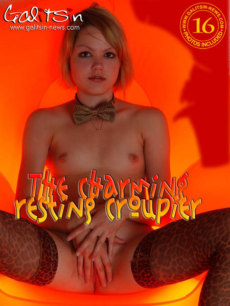 Liza - `The Charming Resting Croupier` - by Galitsin for GALITSIN-NEWS