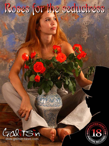 Karina - `Roses For The Seductress` - by Galitsin for GALITSIN-NEWS
