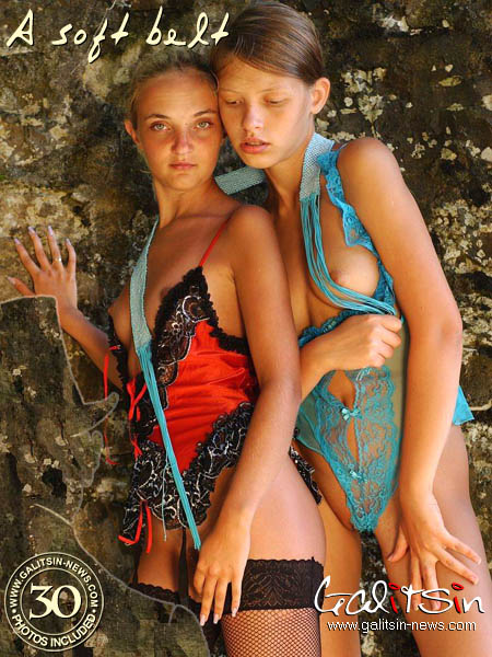 Polina & Valentina - `A Soft Belt` - by Galitsin for GALITSIN-NEWS