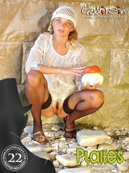 Polina - `Plaites` - by Galitsin for GALITSIN-NEWS