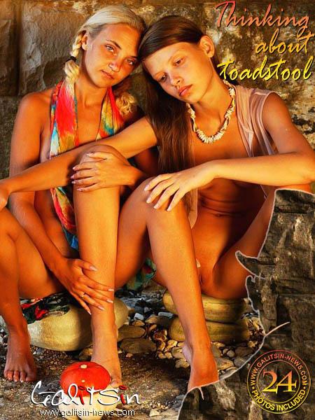 Polina & Valentina - `Thinking About Toadstool` - by Galitsin for GALITSIN-NEWS