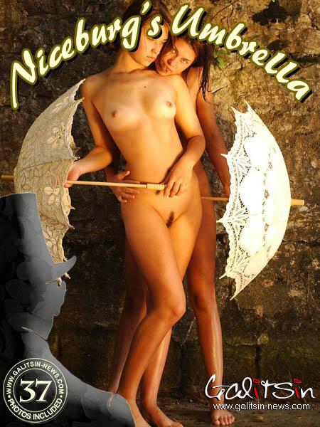 Katerina & Olesia - `Niceburg's Umbrellas` - by Galitsin for GALITSIN-NEWS