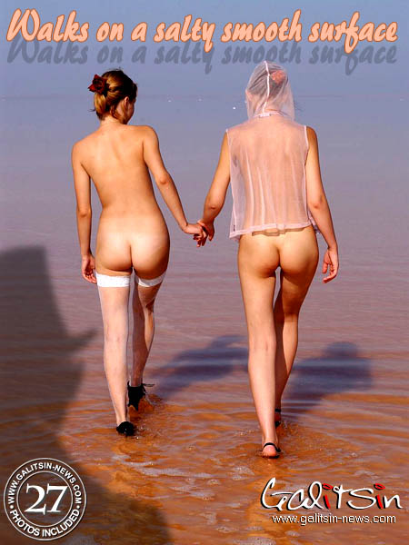 Liza & Valentina - `Walks On A Salty Smooth Surface` - by Galitsin for GALITSIN-NEWS