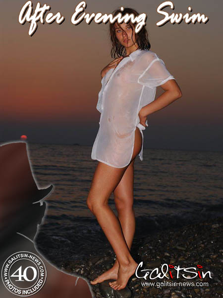Olesia - `After Evening Swim` - by Galitsin for GALITSIN-NEWS