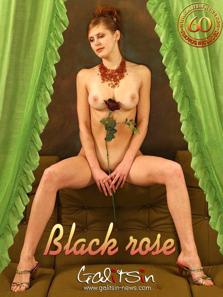 Larisa - `Black Rose` - by Galitsin for GALITSIN-NEWS