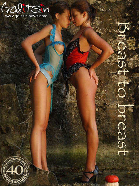 Olesia & Valentina - `Breast To Breast` - by Galitsin for GALITSIN-NEWS