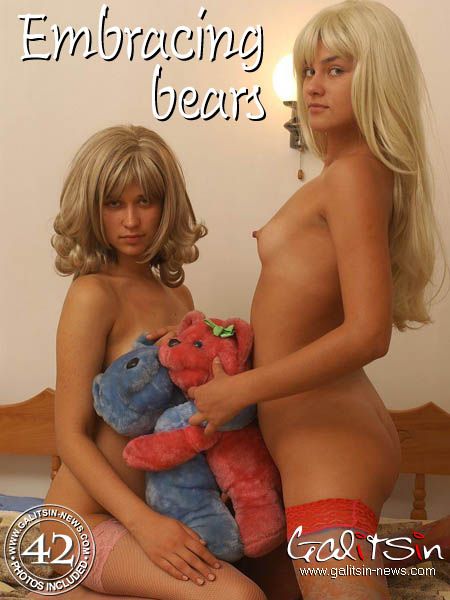 Katerina & Olesia - `Embracing Bears` - by Galitsin for GALITSIN-NEWS