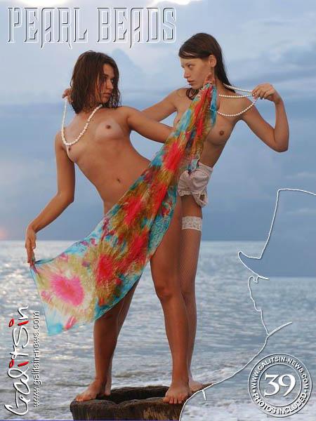 Olesia & Valentina - `Pearl Beads` - by Galitsin for GALITSIN-NEWS