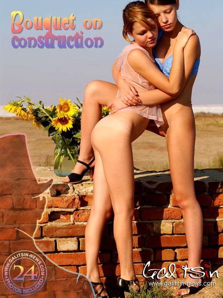 Liza & Valentina - `Bouquet On Construction` - by Galitsin for GALITSIN-NEWS