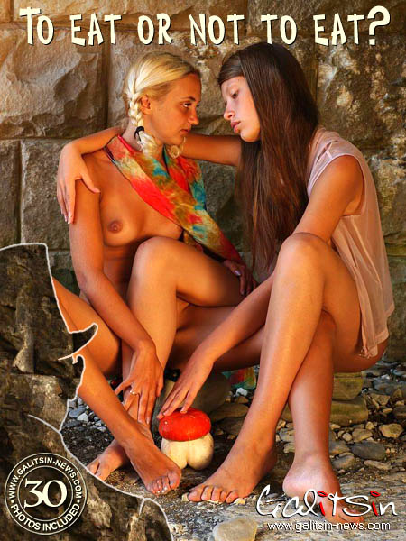 Polina & Valentina - `To Eat Or Not To Eat?` - by Galitsin for GALITSIN-NEWS