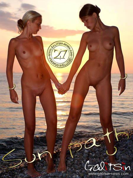 Polina & Valentina - `Sun Path` - by Galitsin for GALITSIN-NEWS