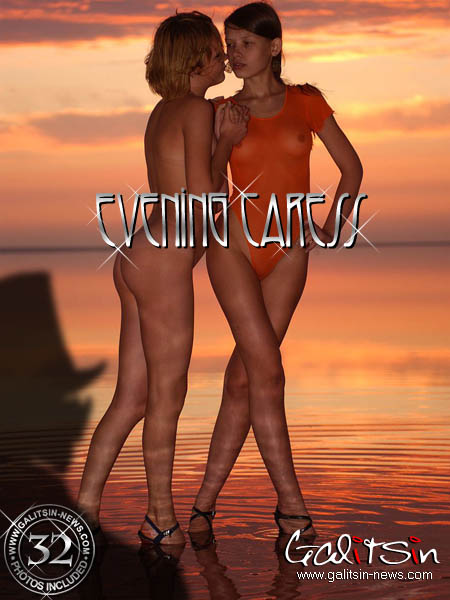 Liza & Valentina - `Evening Caress` - by Galitsin for GALITSIN-NEWS