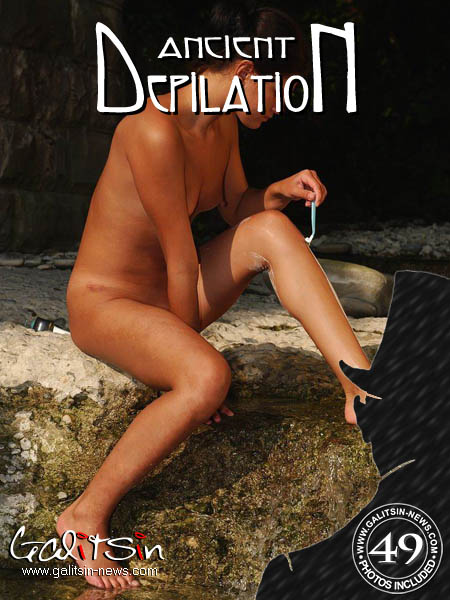 Katerina - `Ancient Depilation` - by Galitsin for GALITSIN-NEWS