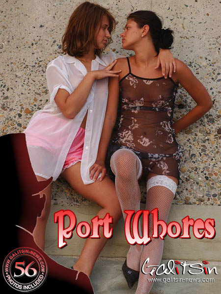 Katerina & Olesia - `Port Whores` - by Galitsin for GALITSIN-NEWS