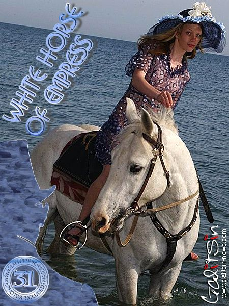 Olea - `White Horse Of Empress` - by Galitsin for GALITSIN-NEWS