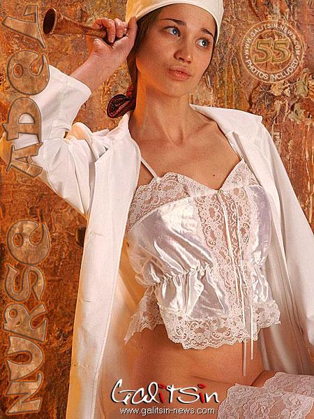 Adel - `Nurse Adel` - by Galitsin for GALITSIN-NEWS