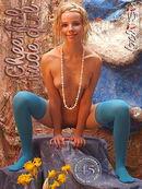 Cheerful Nude Girl