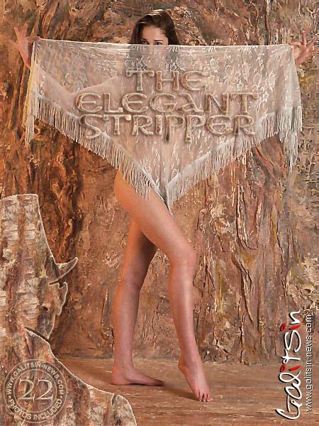 Adel - `The Elegant Stripper` - by Galitsin for GALITSIN-NEWS