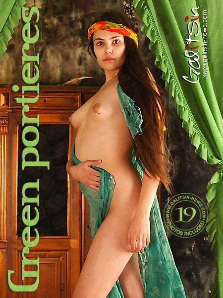 Rapunzel - `Green Portieres` - by Galitsin for GALITSIN-NEWS
