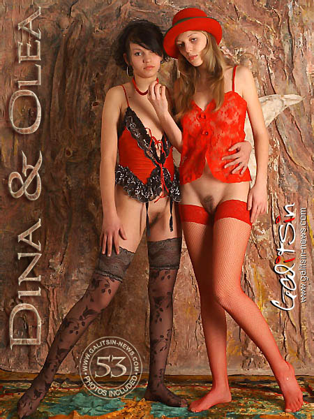 Dina & Olea - `Dina & Olea` - by Galitsin for GALITSIN-NEWS