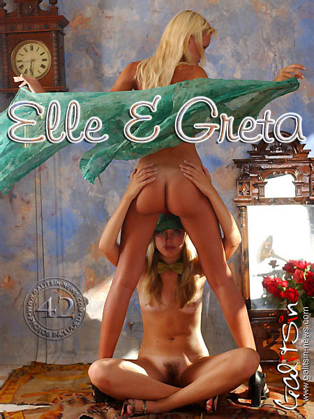 Elle & Greta - `Elle & Greta` - by Galitsin for GALITSIN-NEWS