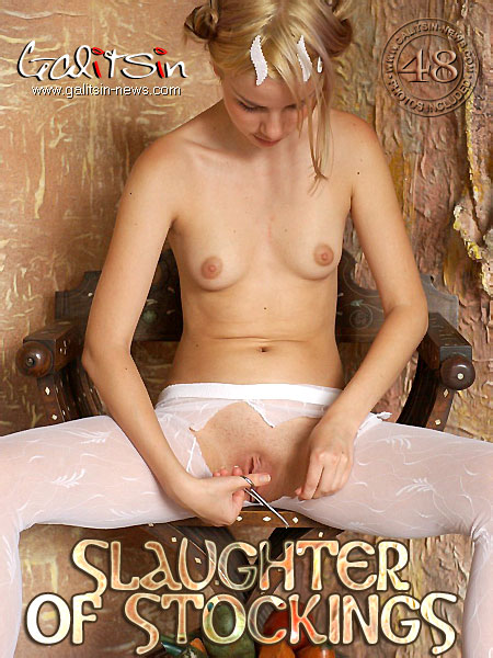Natia - `Slaughter Of Stockings` - by Galitsin for GALITSIN-NEWS