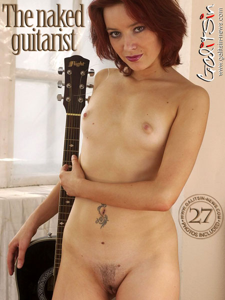 Veraga - `The Naked Guitarist` - by Galitsin for GALITSIN-NEWS
