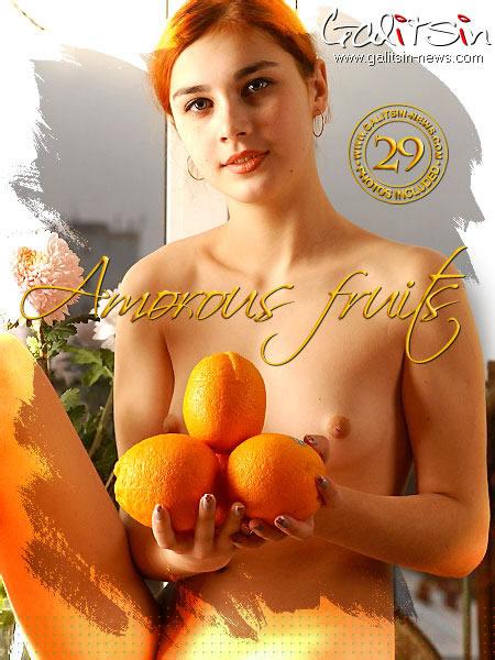 Angelina - `Amorous Fruits` - by Galitsin for GALITSIN-NEWS