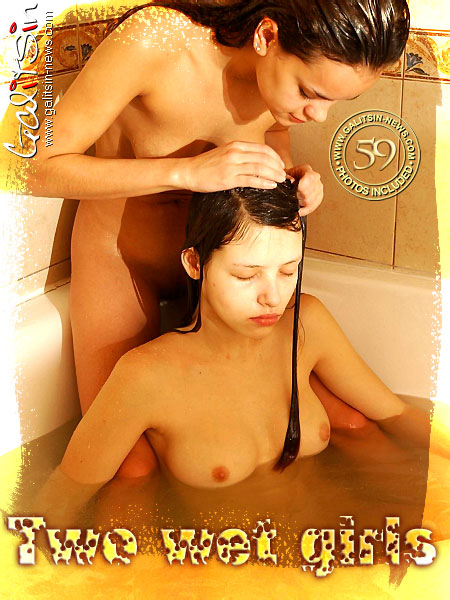 Olga & Valentina - `Two Wet Girls` - by Galitsin for GALITSIN-NEWS