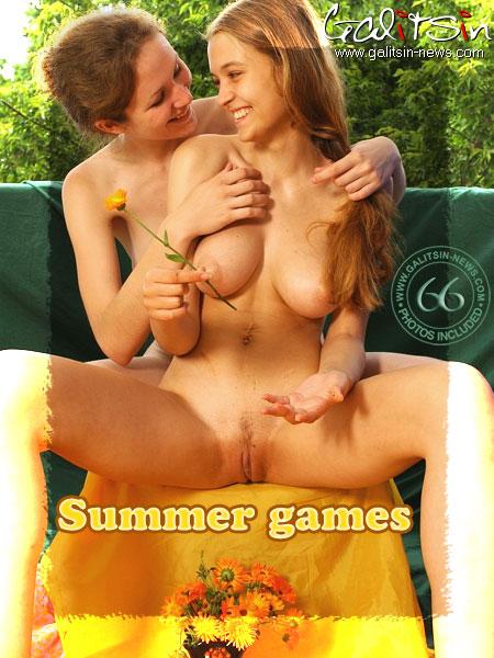 Tania & Vera - `Summer Games` - by Galitsin for GALITSIN-NEWS