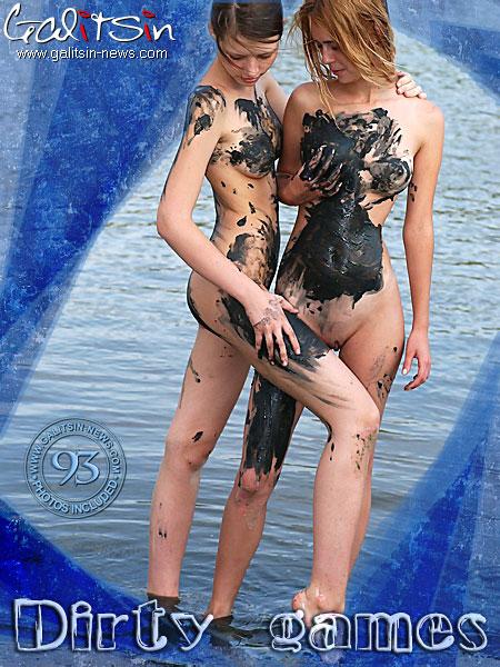 Uliana & Valentina - `Dirty Games` - by Galitsin for GALITSIN-NEWS