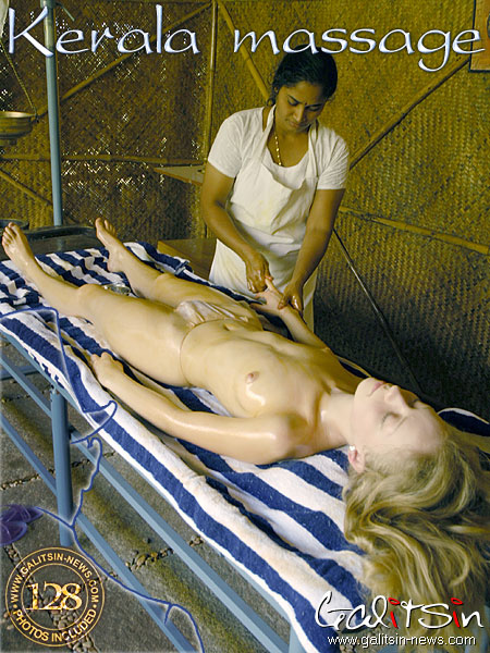 Barbara - `Kerala Massage` - by Galitsin for GALITSIN-NEWS