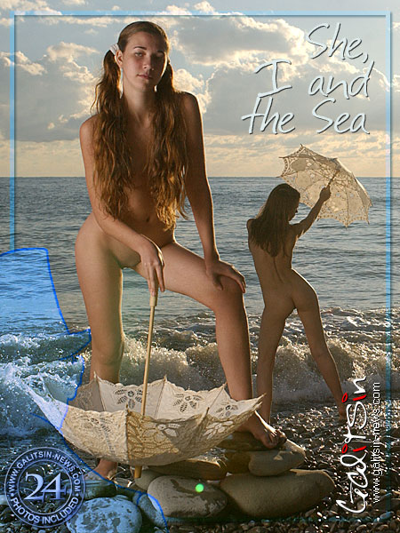 Lina & Valentina - `She I And The Sea` - by Galitsin for GALITSIN-NEWS