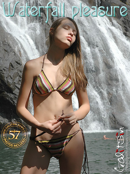 Valentina - `Waterfall Pleasure` - by Galitsin for GALITSIN-NEWS