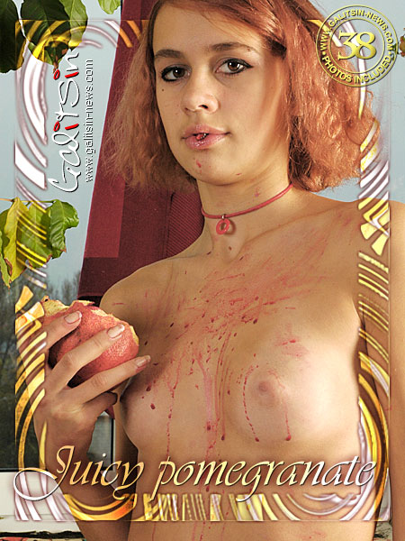 Arina - `Juicy Pomegranate` - by Galitsin for GALITSIN-NEWS