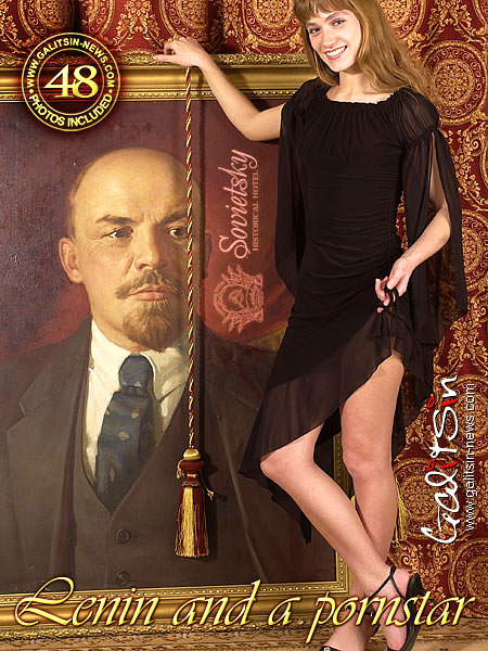 Sandra - `Lenin And A Pornstar` - by Galitsin for GALITSIN-NEWS