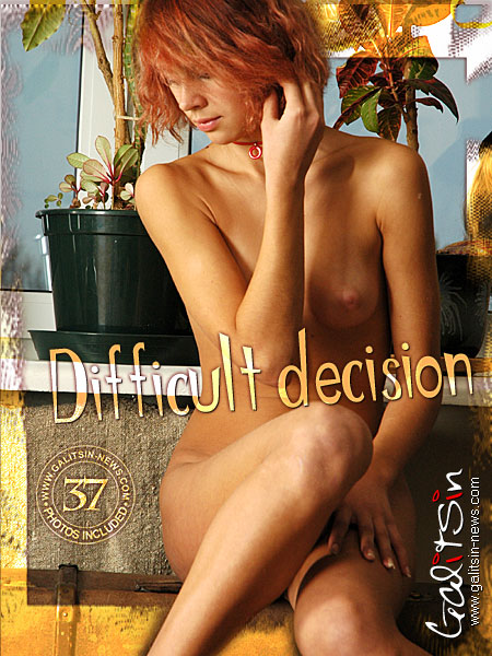 Arina - `Difficult Decision` - by Galitsin for GALITSIN-NEWS