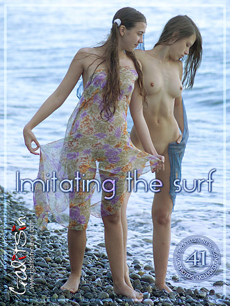 Lina & Valentina - `Imitating The Surf` - by Galitsin for GALITSIN-NEWS