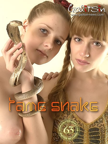 Alina & Sandra - `Tame Snake` - by Galitsin for GALITSIN-NEWS