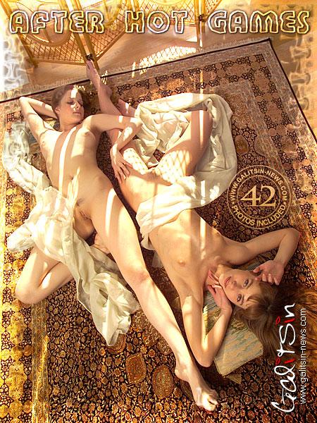 Alina & Sandra - `After Hot Games` - by Galitsin for GALITSIN-NEWS