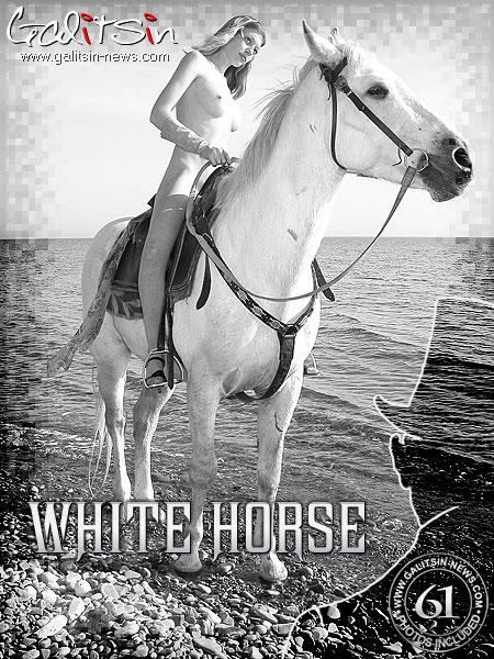 Olea - `White Horse` - by Galitsin for GALITSIN-NEWS