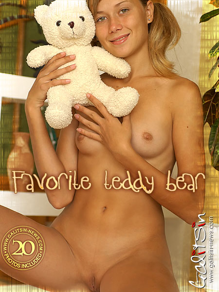 Alice - `Favorite Teddy Bear` - by Galitsin for GALITSIN-NEWS
