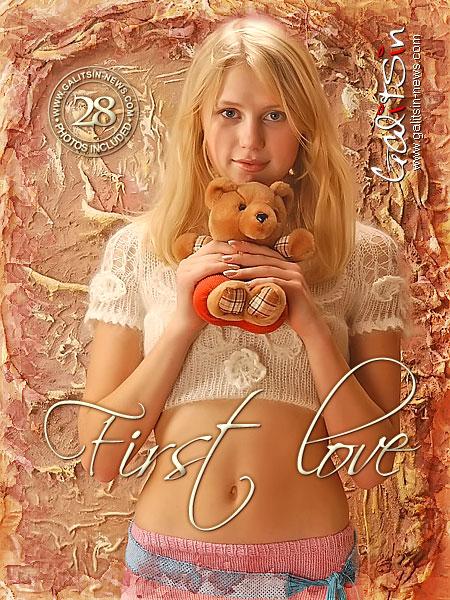 Julia - `First Love` - by Galitsin for GALITSIN-NEWS