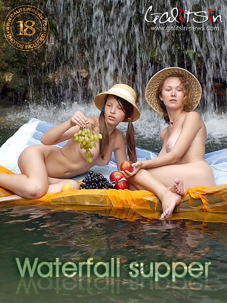 Valentina & Vera - `Waterfall Supper` - by Galitsin for GALITSIN-NEWS