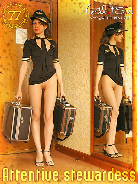Belka - `Attentive Stewardess` - by Galitsin for GALITSIN-NEWS